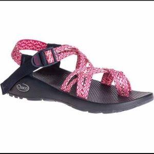 Chaco ZX/2 Classic Sandals Fusion Rose Strappy 6
